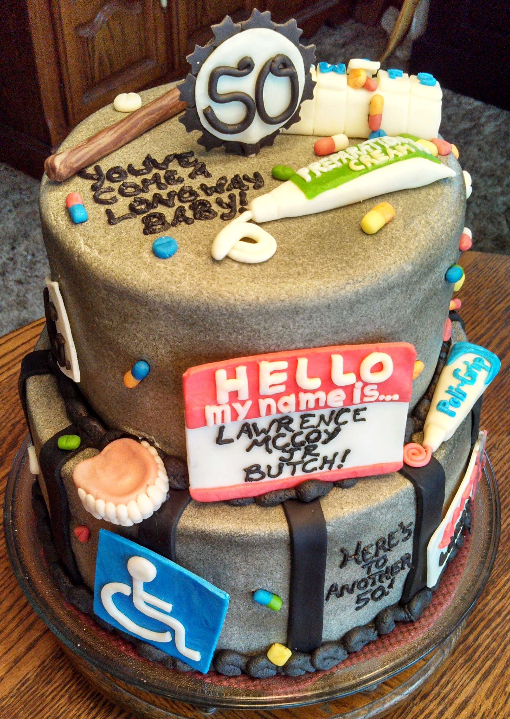 Funny Birthday Cakes Th