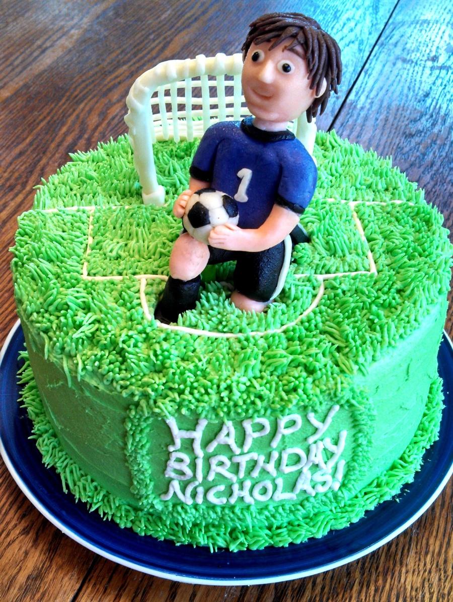 Soccer Goalie Cake Cakecentral Com