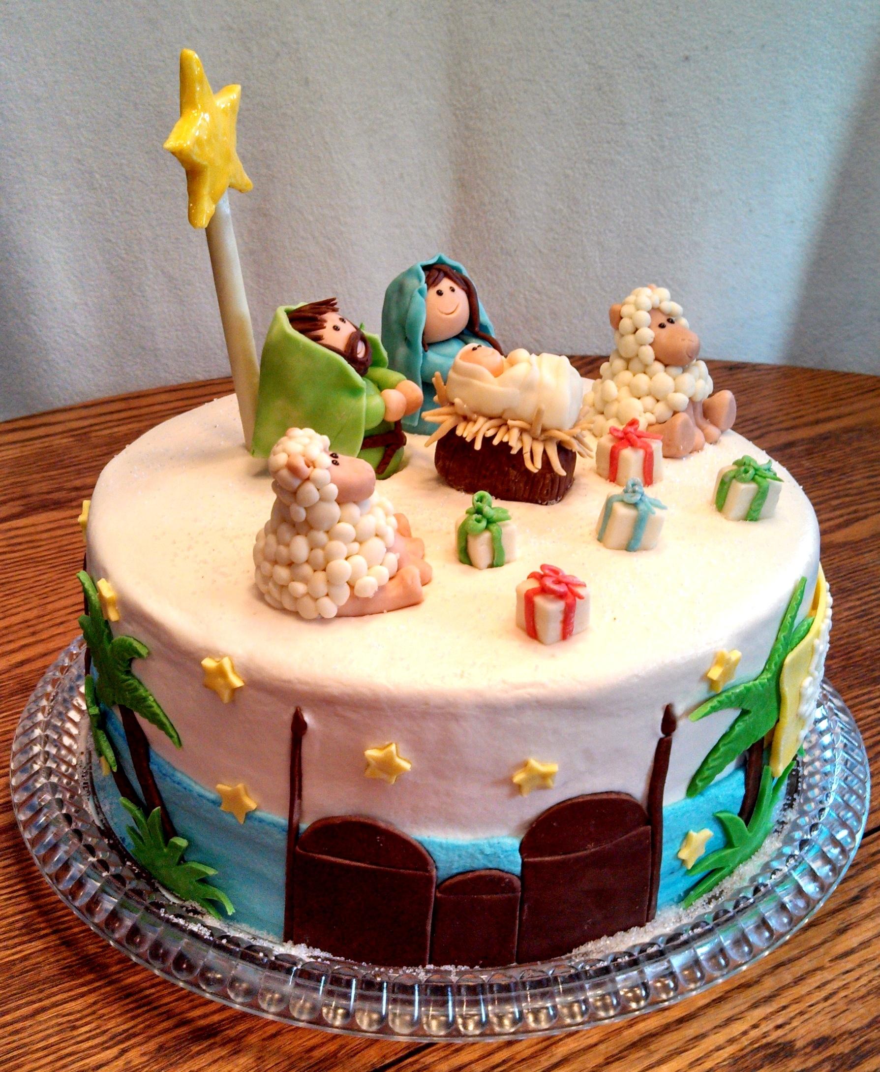 Happy Birthday Jesus Cake Decorations
