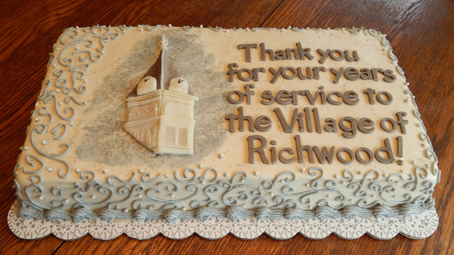 Richwood Mayor s Retirement Cake - CakeCentral.com
