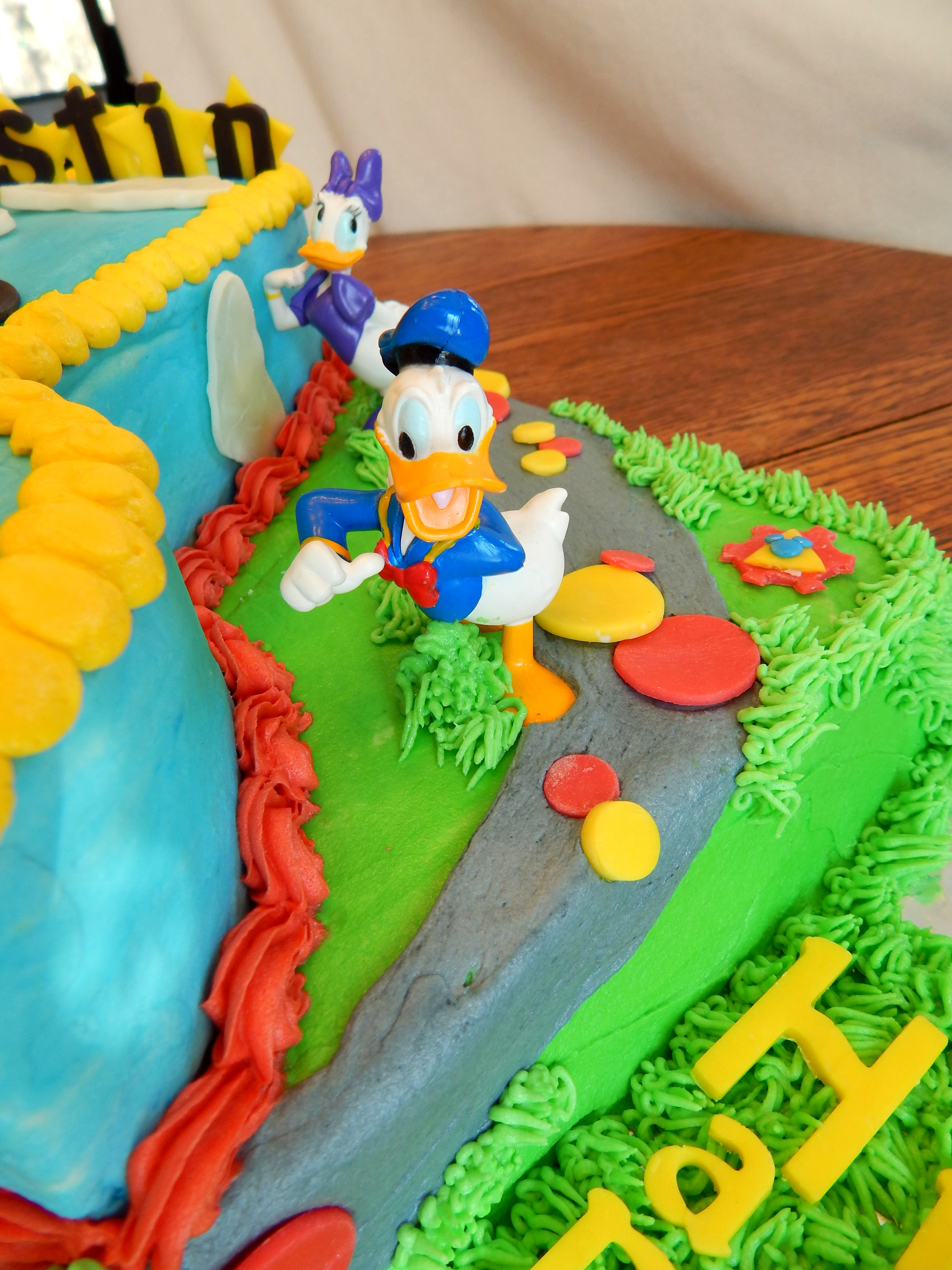 Mickey Mouse Clubhouse First Birthday Cake Cakecentral Com