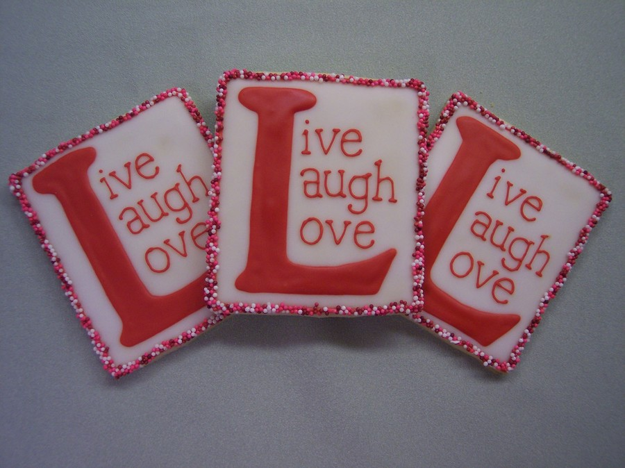 Live, Laugh, Love on Cake Central