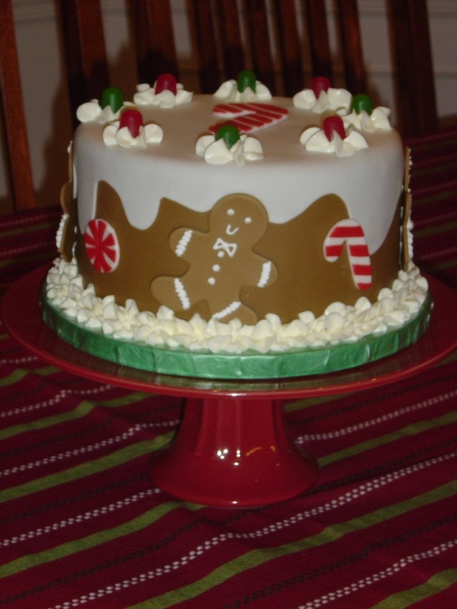 Gingerbread Man Cake on Cake Central
