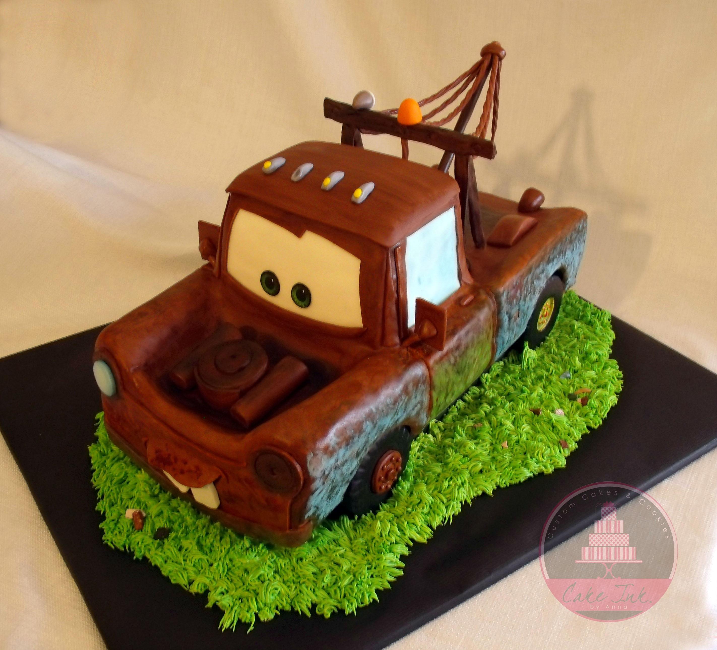 Tow Mater Cake Cakecentral Com