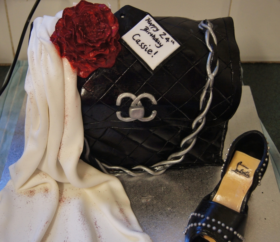 Handbag&shoe on Cake Central