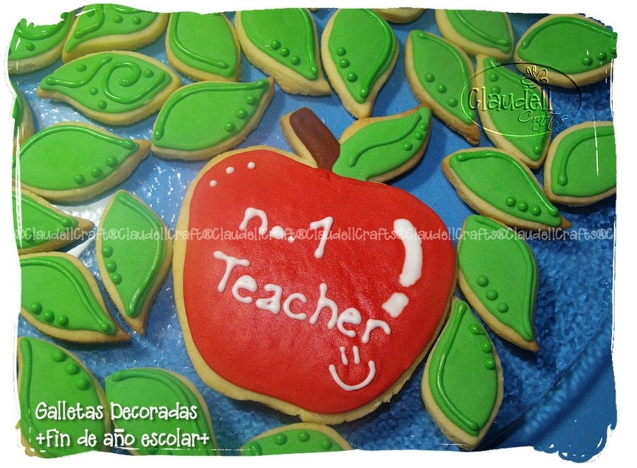 Galletas Para Escuela  on Cake Central