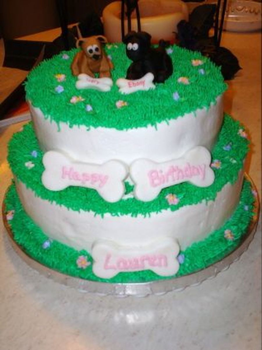 Puppy Dog Birthday Cake Cakecentral