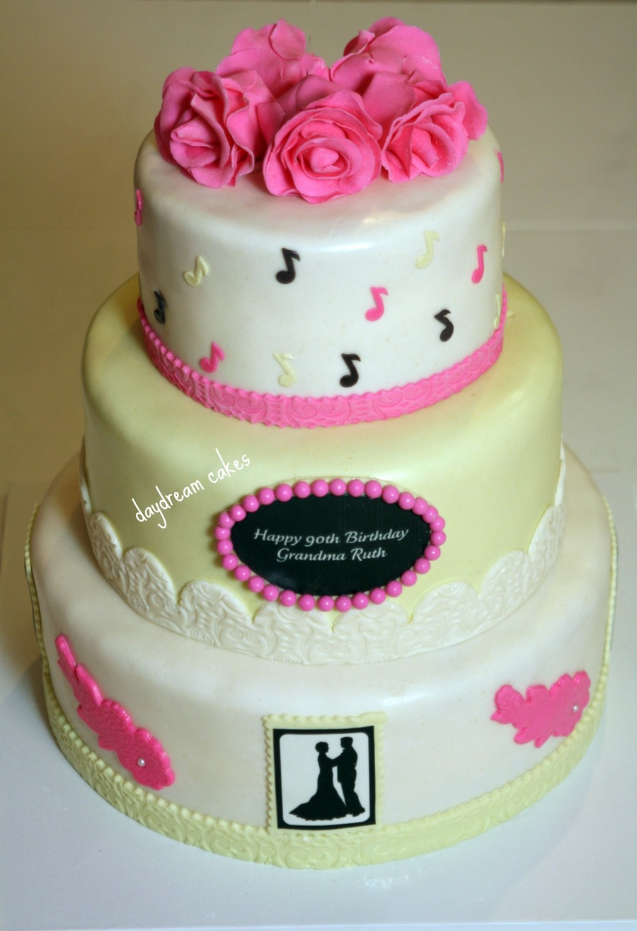 Surprise 90th Birthday Cakecentral Com