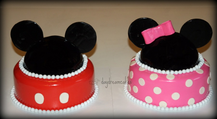 Mickey And Minnie Twins CakeCentralcom