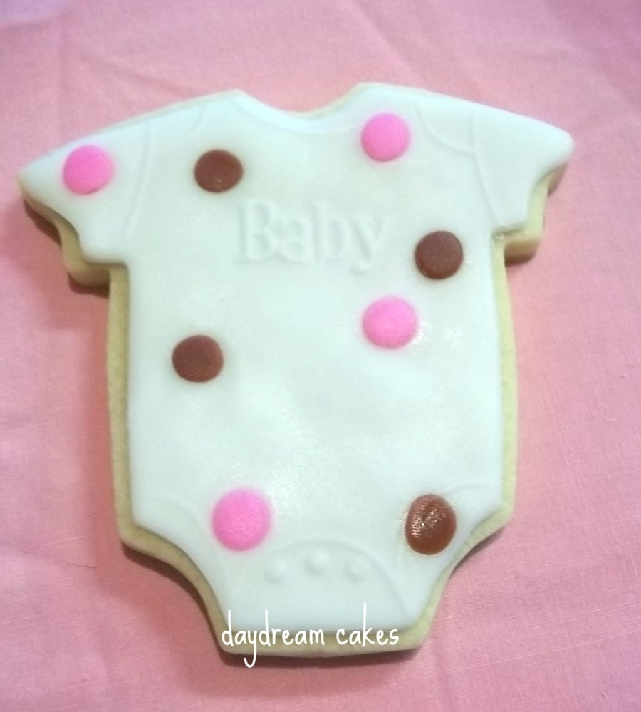 Onesie Cookies on Cake Central