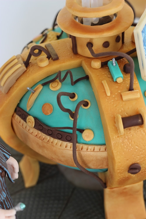 Doctor Who Birthday Cake That Glows In The Dark Cakecentral