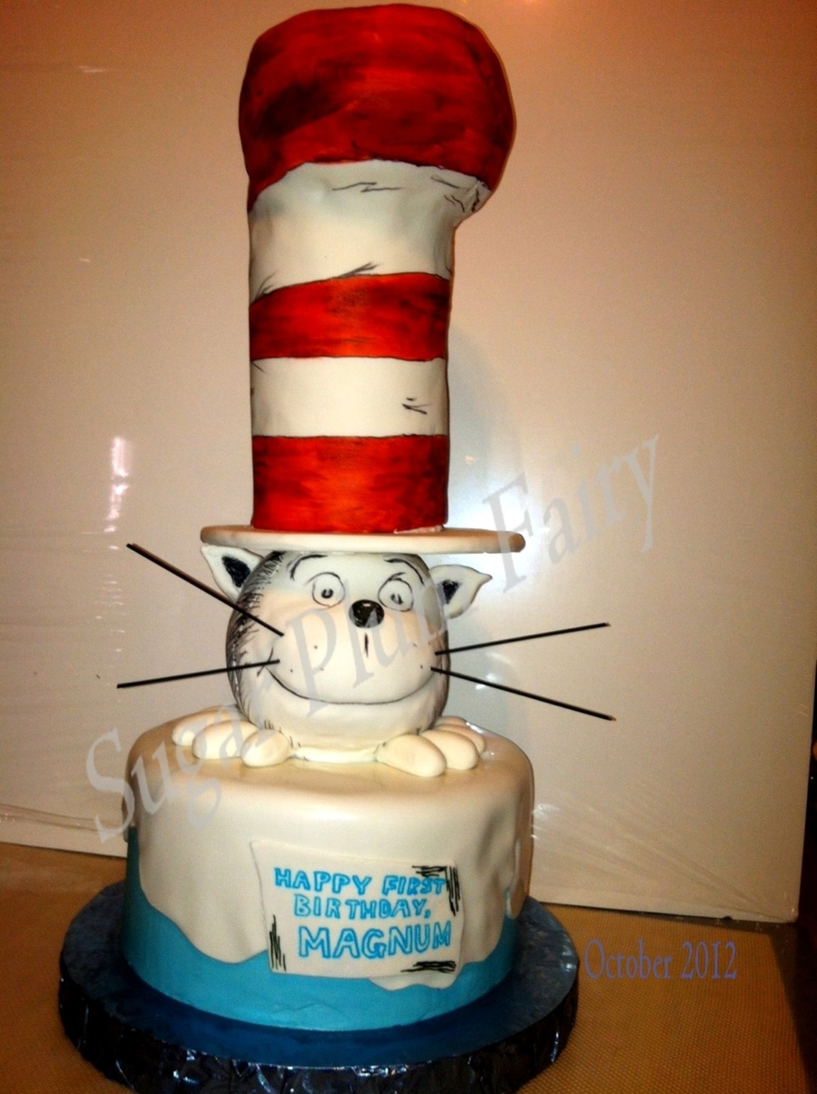 The Cat- Dr. Seuss on Cake Central