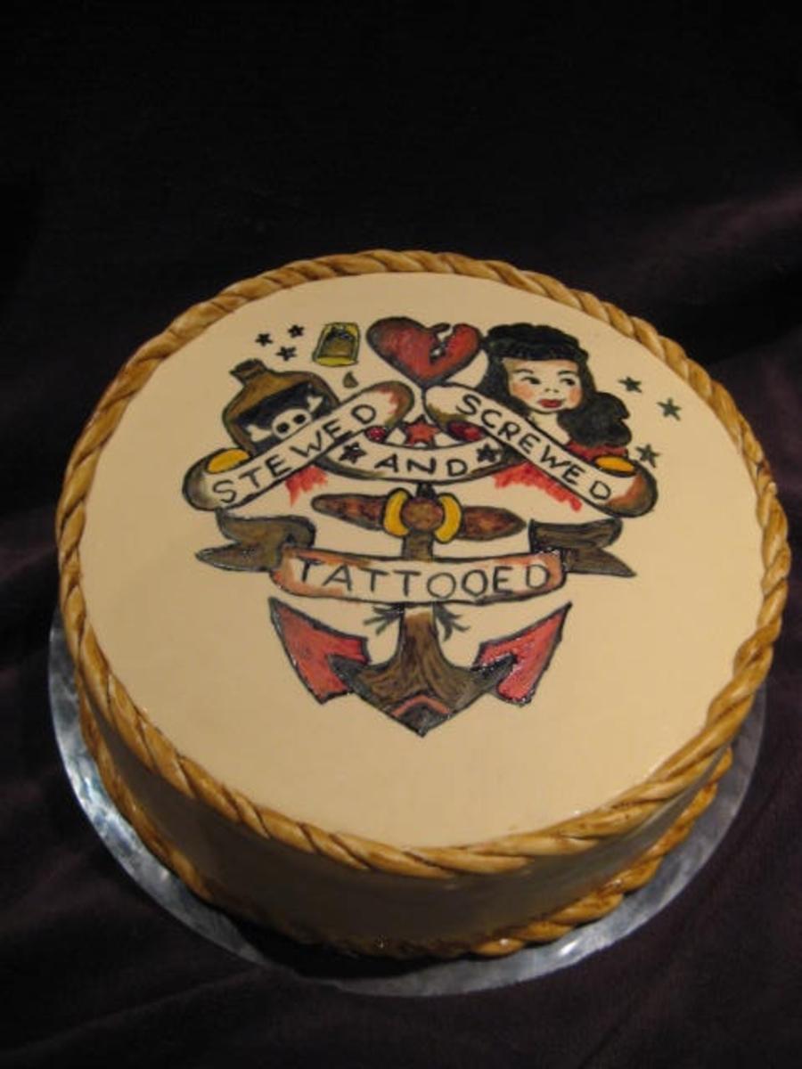 Sailor Jerry Cake