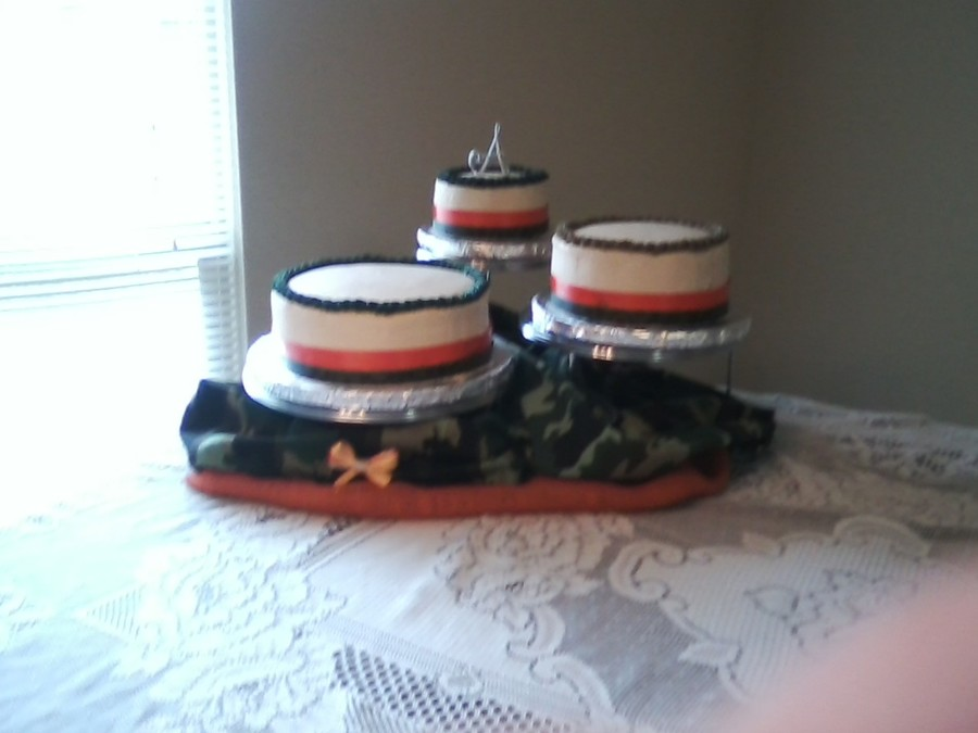 Camo Wedding Cake on Cake Central