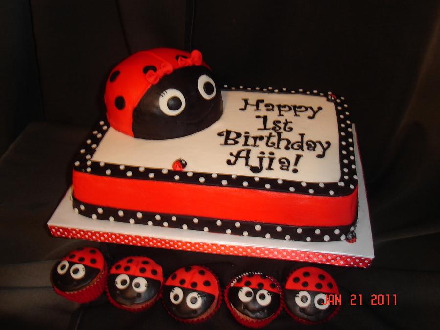 Ladybug 1st Birthday Cakecentral