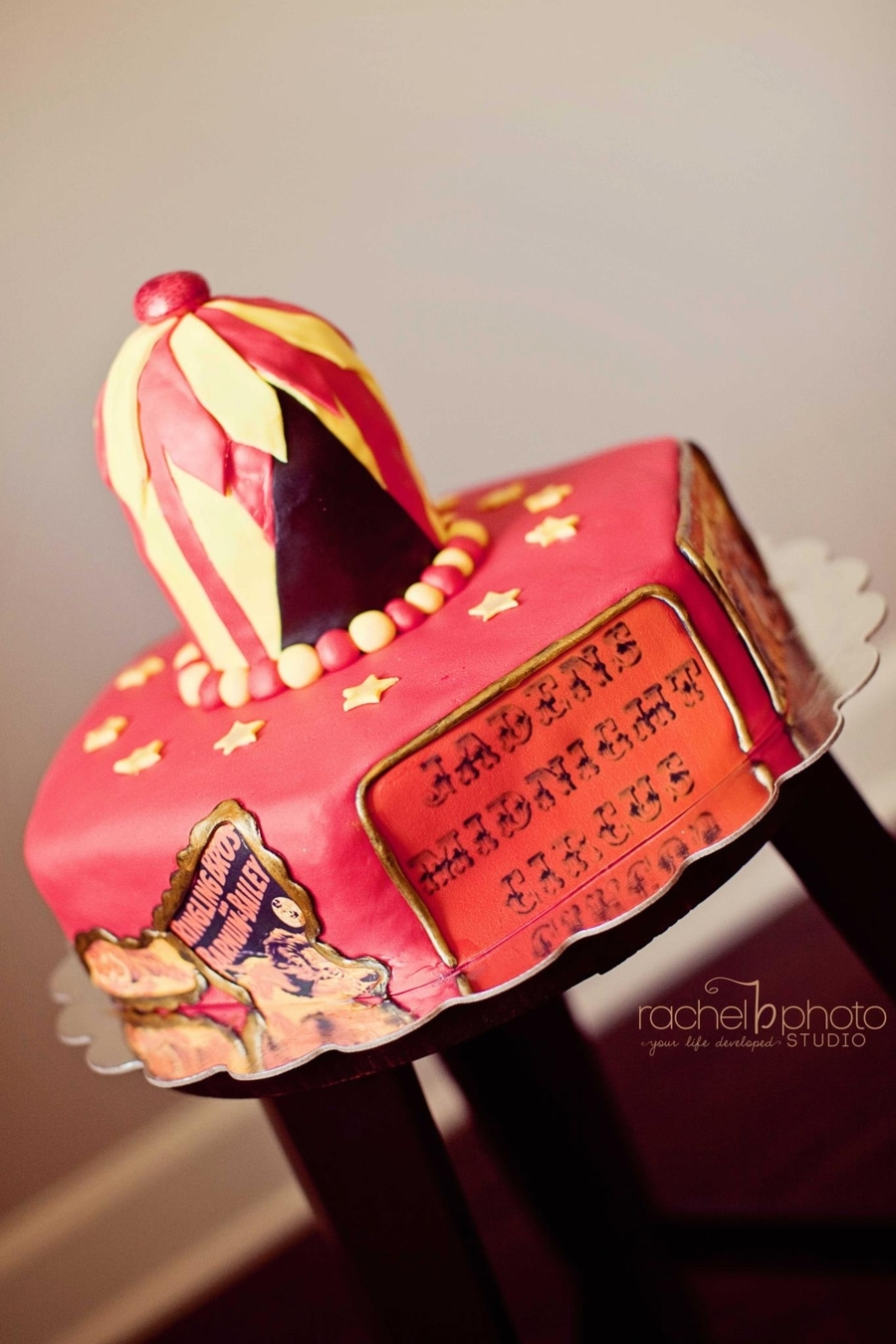 Midnight Circus Cake on Cake Central