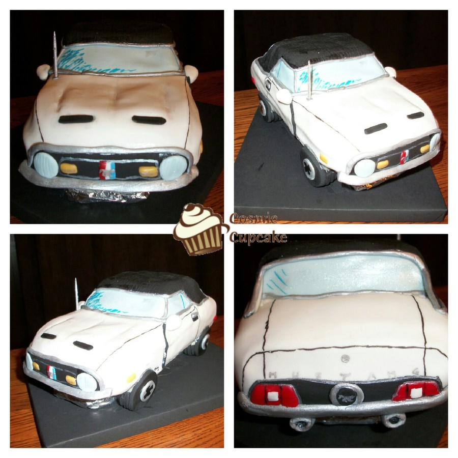 1971 Mustang on Cake Central