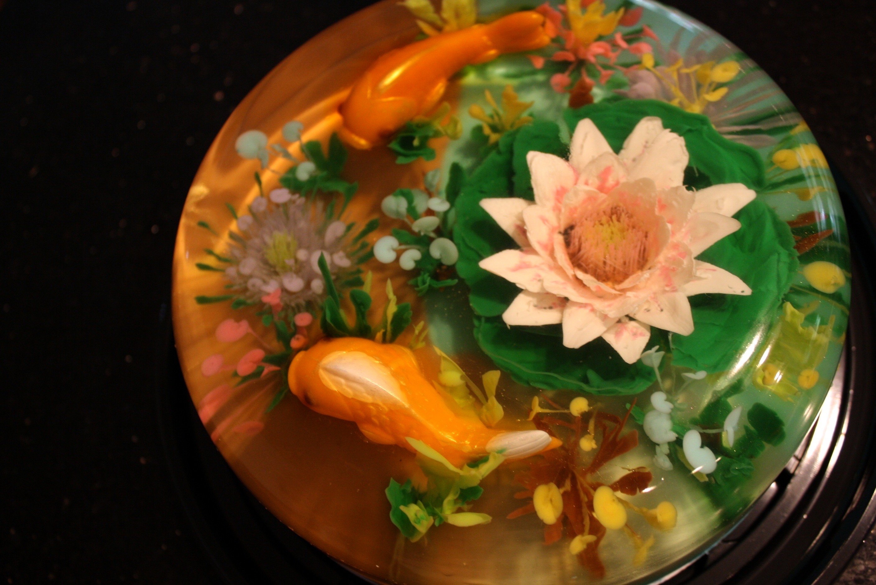 Realistic fish pond for Moulded fish ponds