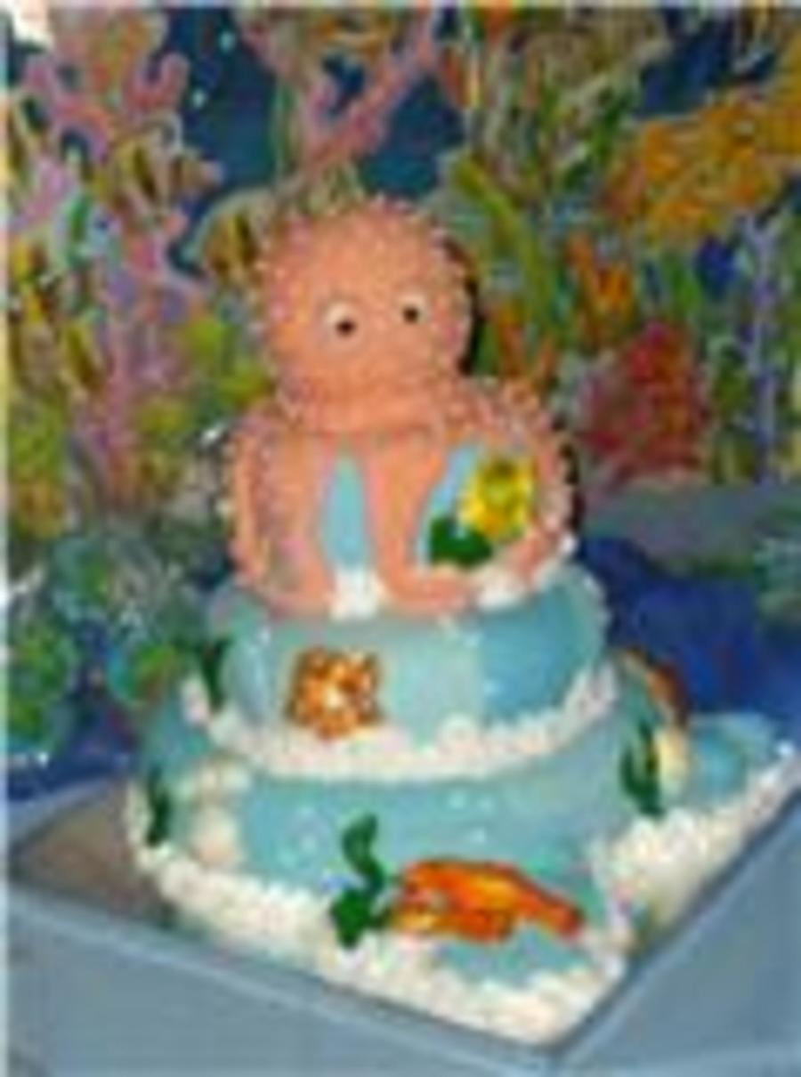 Octopus Cake on Cake Central
