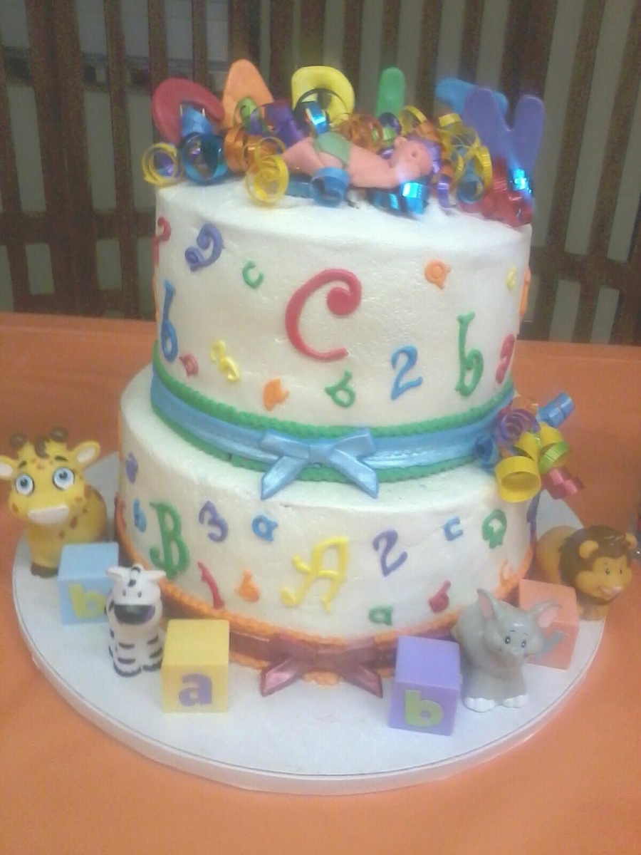 Rainbow Baby Shower Cake Cakecentral
