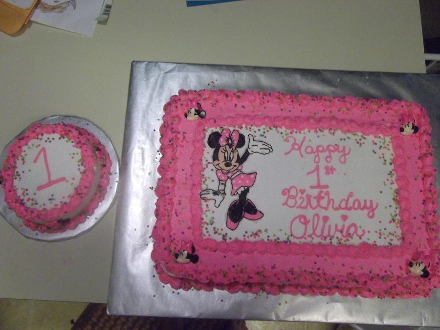 Superb Minnie Mouse Cake Cakecentral Com Funny Birthday Cards Online Amentibdeldamsfinfo