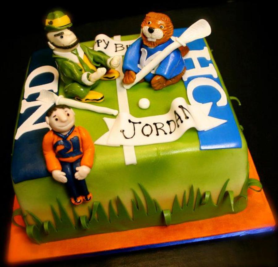 Lacrosse Birthday on Cake Central