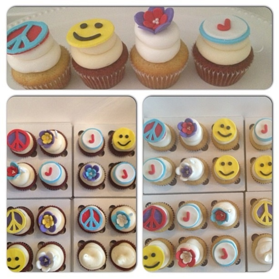 Peace, Happiness & Cupcakes  on Cake Central