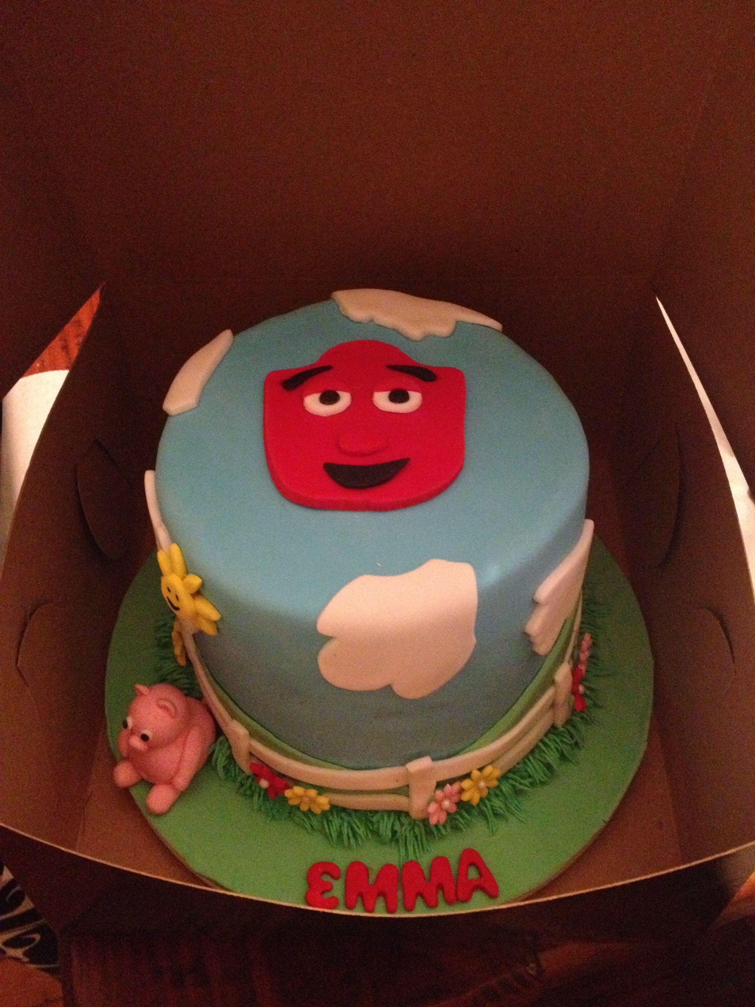 Tec The Tractor Birthday Cake