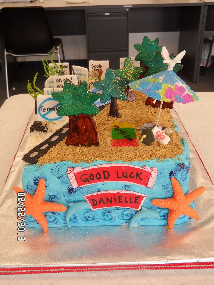 Orkin To Florida Going Away Cake Cakecentral Com