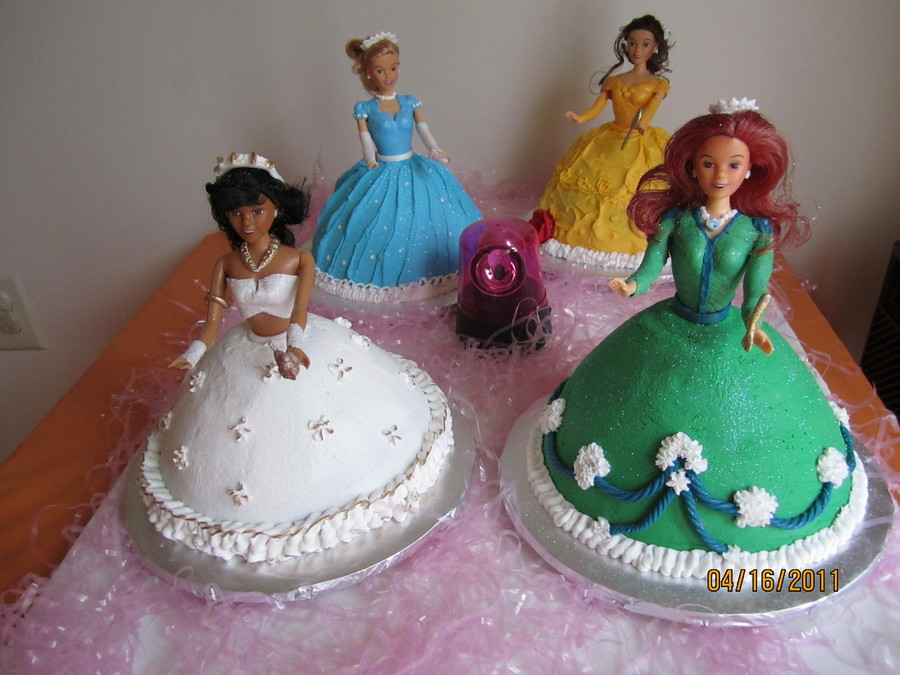 Disney Princess Cakes  on Cake Central