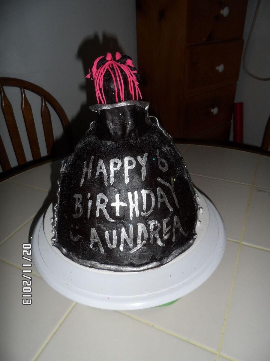 Superb Monsterhigh Draculaura Birthday Cake Cakecentral Com Funny Birthday Cards Online Hendilapandamsfinfo