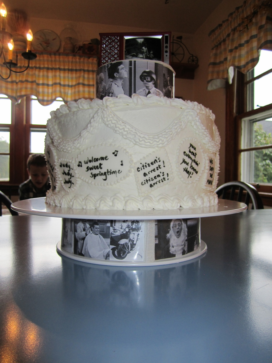 Andy Griffith Show Cake on Cake Central