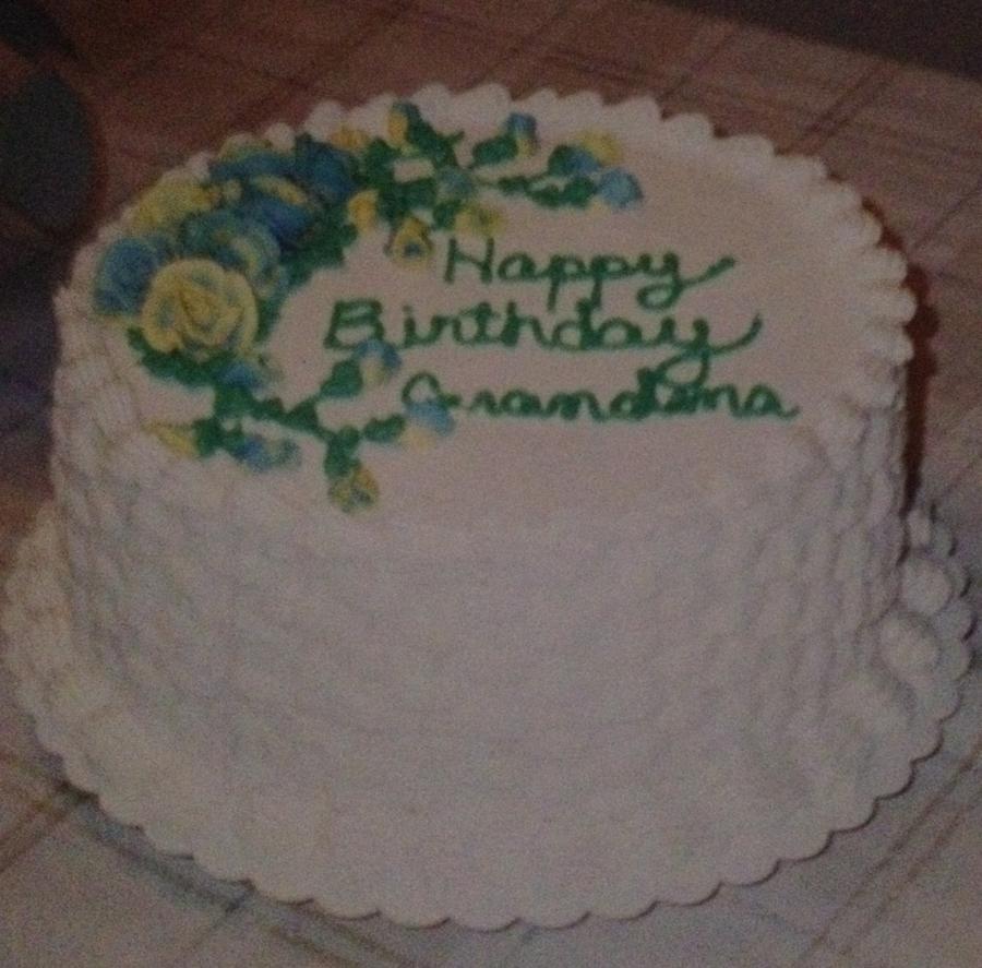 Grandma's Birthday  on Cake Central