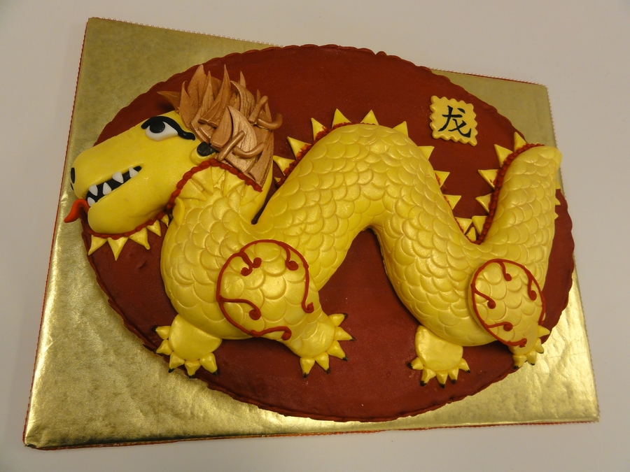 Happy Lunar New Year Of The Dragon 2012 on Cake Central