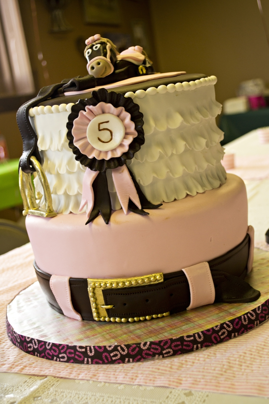 Girly Horse Themed Birthday Cakecentral Com