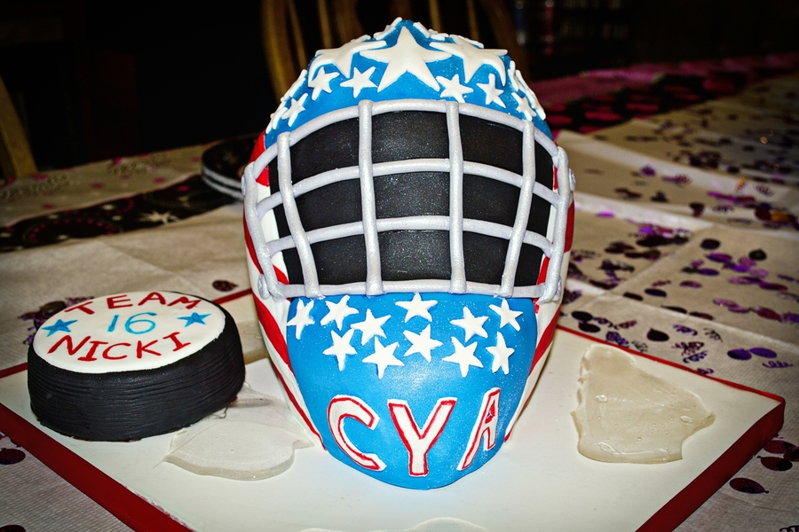 3d Hockey Goalie Mask Cakecentral Com