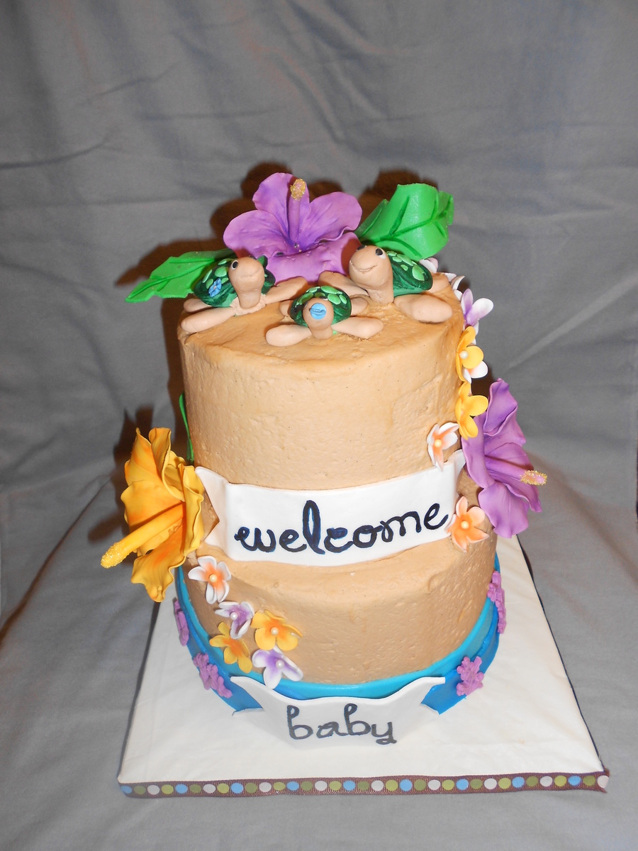 Hawaiian Baby Shower - CakeCentral com