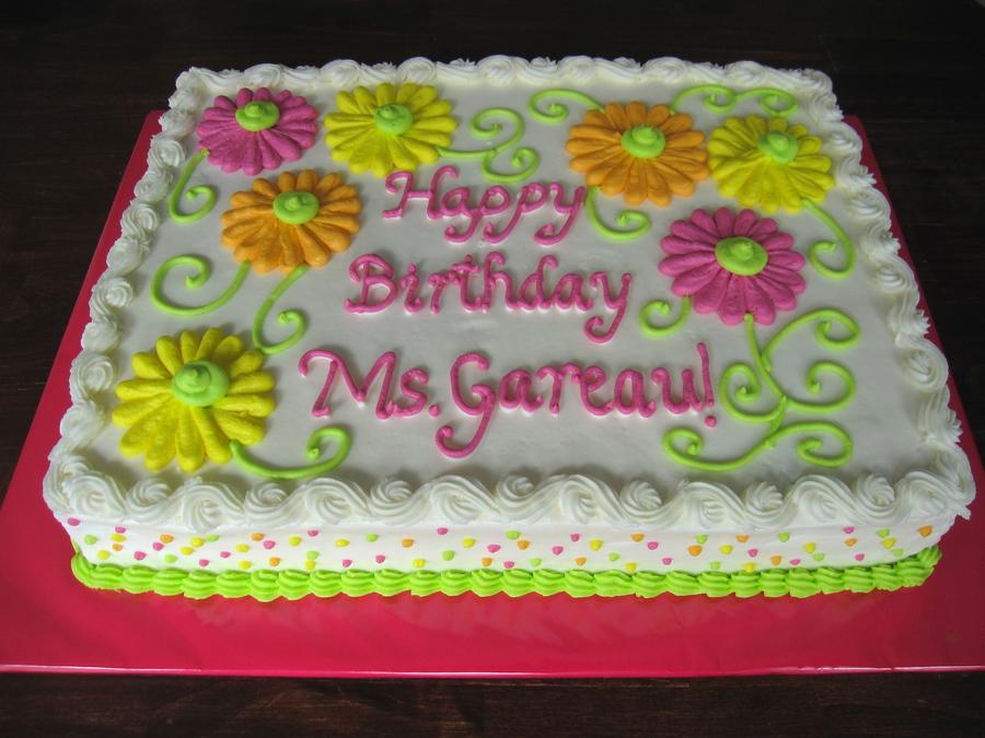 Gerber Daisies Cakecentral Com