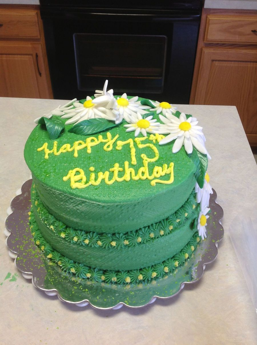 Images Of Round Birthday Cake : Round Tiered Birthday Cake - CakeCentral.com