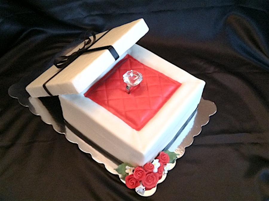 Cake Box Square Cakes