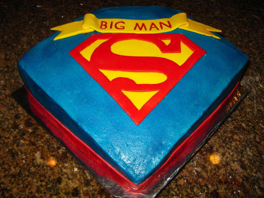 40Th Superman Birthday on Cake Central