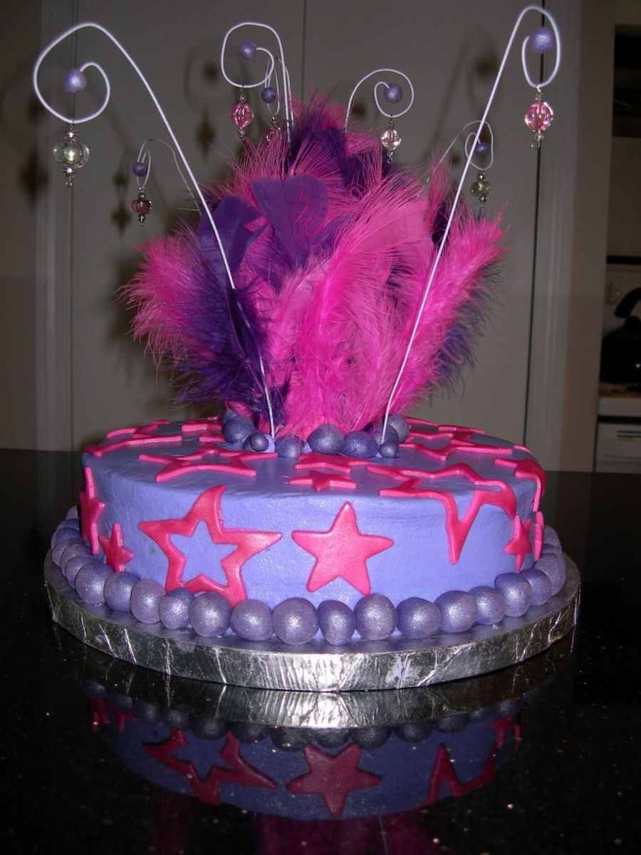 Diva Birthday Cake  on Cake Central
