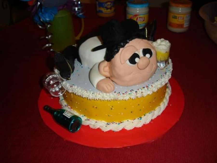Party Animal Cowboy on Cake Central