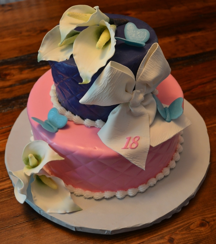 B'day Girl Designed on Cake Central