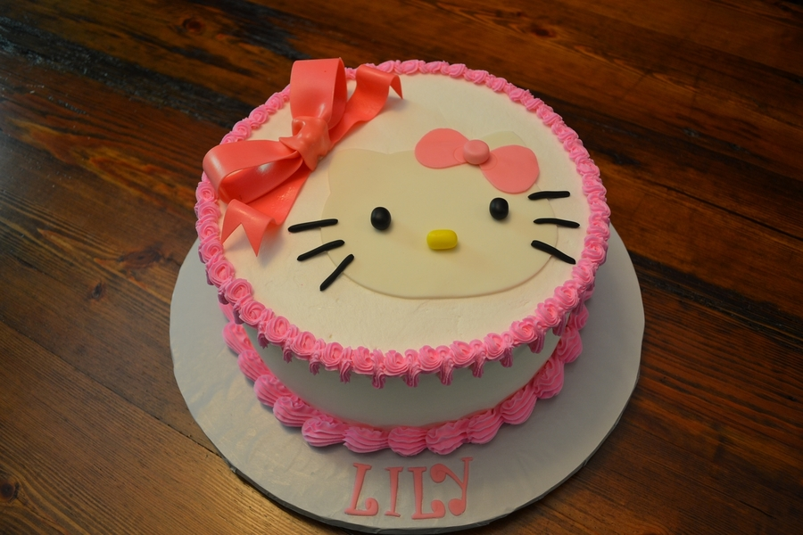 Super Quick Hello Kitty Cake on Cake Central