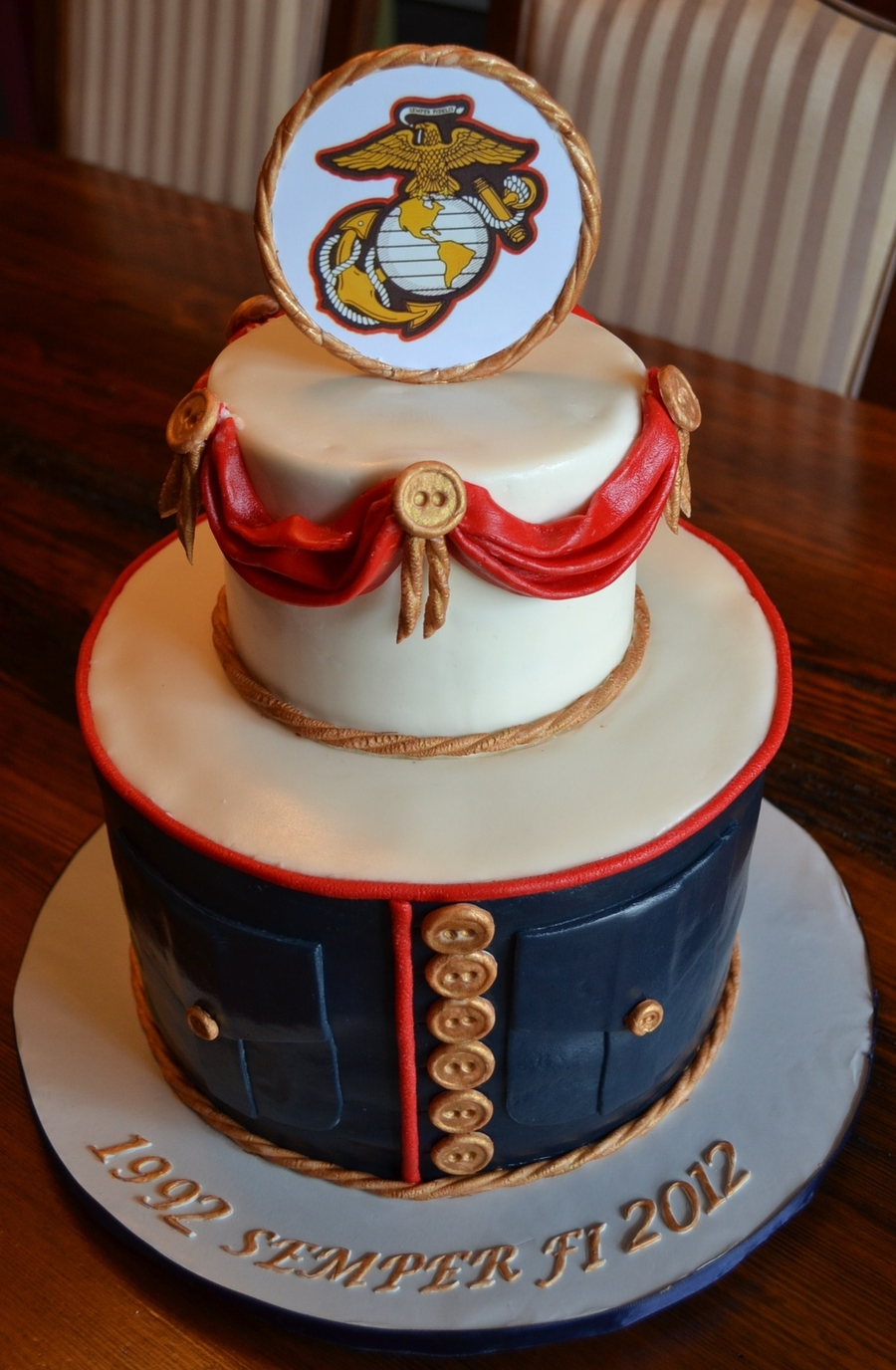 Usmc Retirement on Cake Central