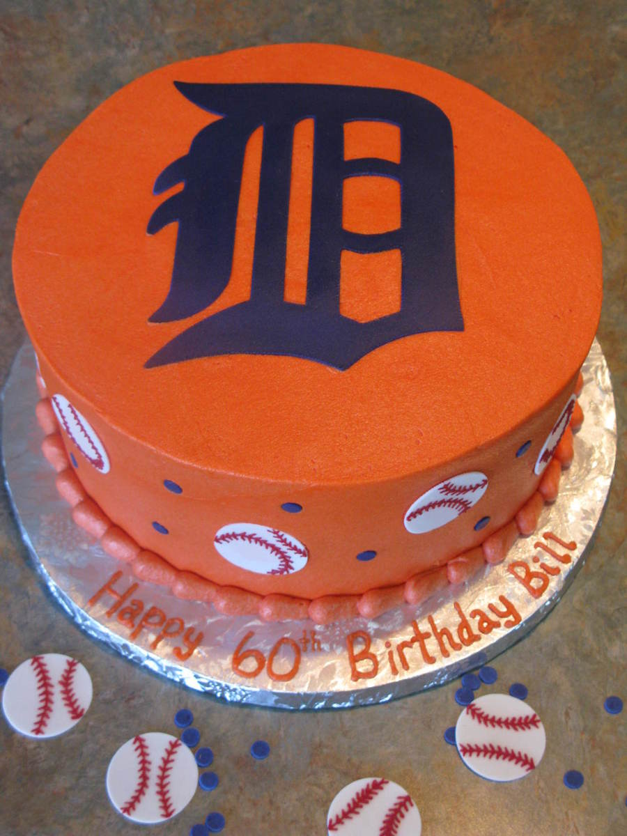 Detroit Tigers  on Cake Central