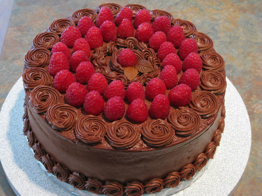 Chocolate And Raspberries on Cake Central