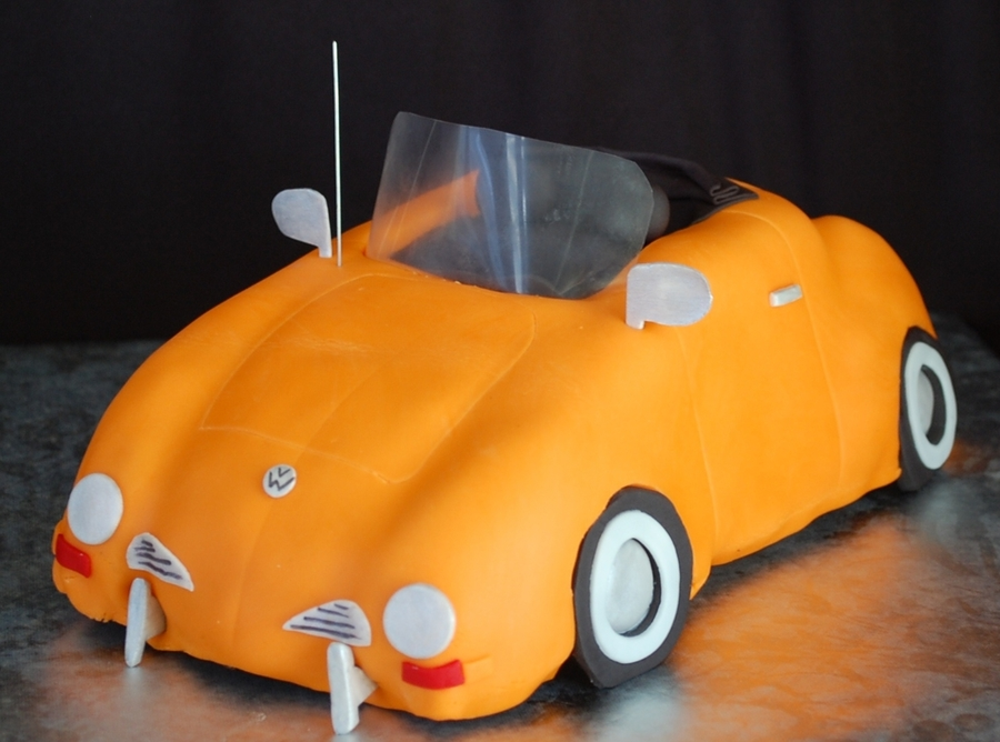 Vw Convertible on Cake Central