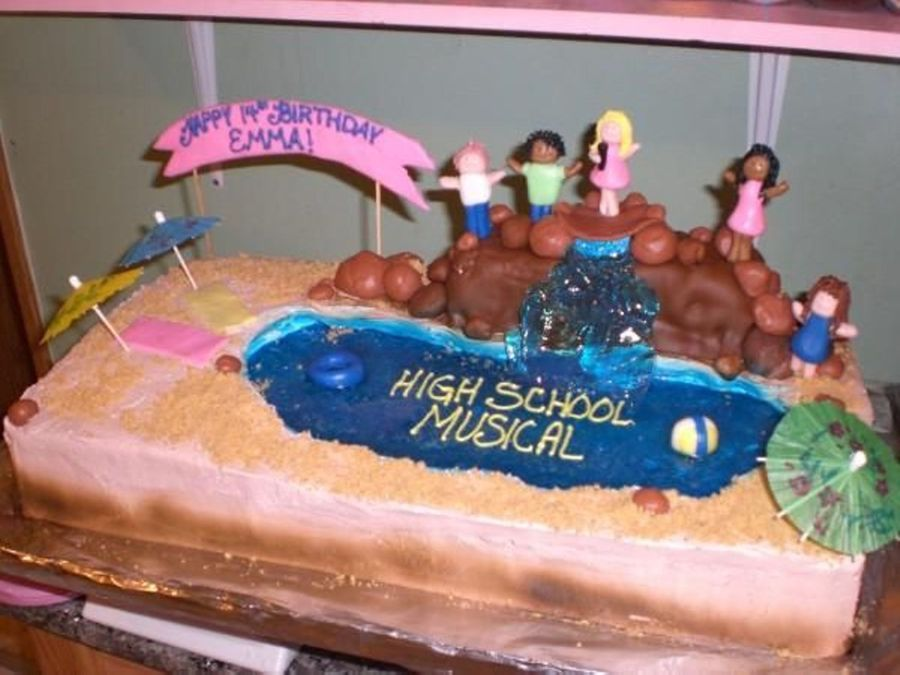 High School Musical on Cake Central